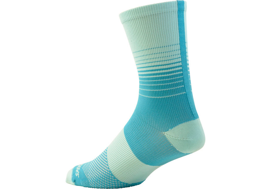 Specialized Women's SL Tall Sock Turqoise Fade