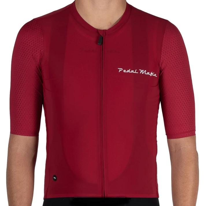Pedal Mafia Men's Pro Jersey 2.0 - Pinot