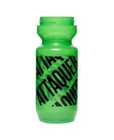 Attaquer Bidon (650ml) Hyper Green / Clear Lid