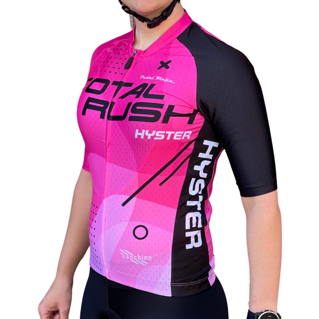 Pedal Mafia 2021 Total Rush Jersey - Pink - Unisex