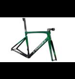 Specialized 2021 S-Works Tarmac SL7 Frameset Green Tint/Chrome