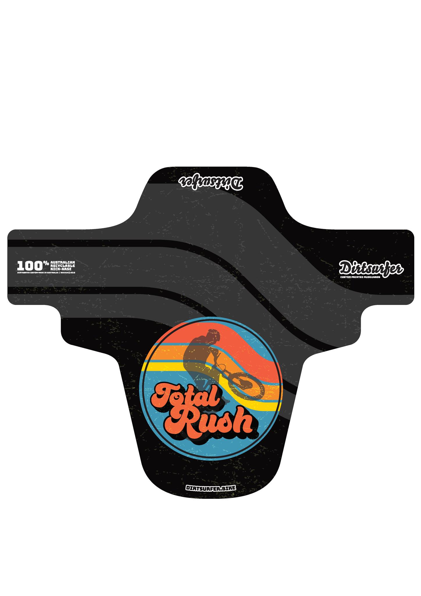 Total Rush Mudguard - Front