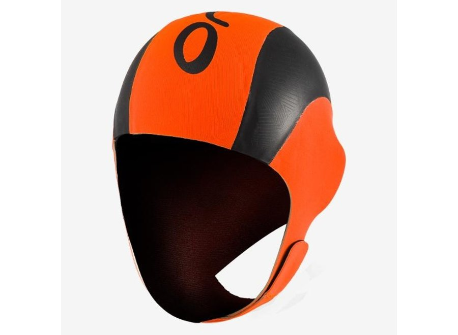 Neoprene Swim Cap - Orange