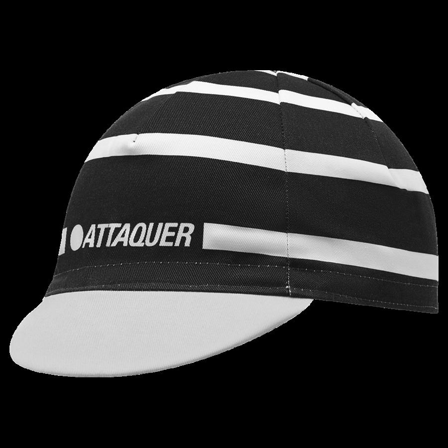 Attaquer Stripe Logo Cap Blk