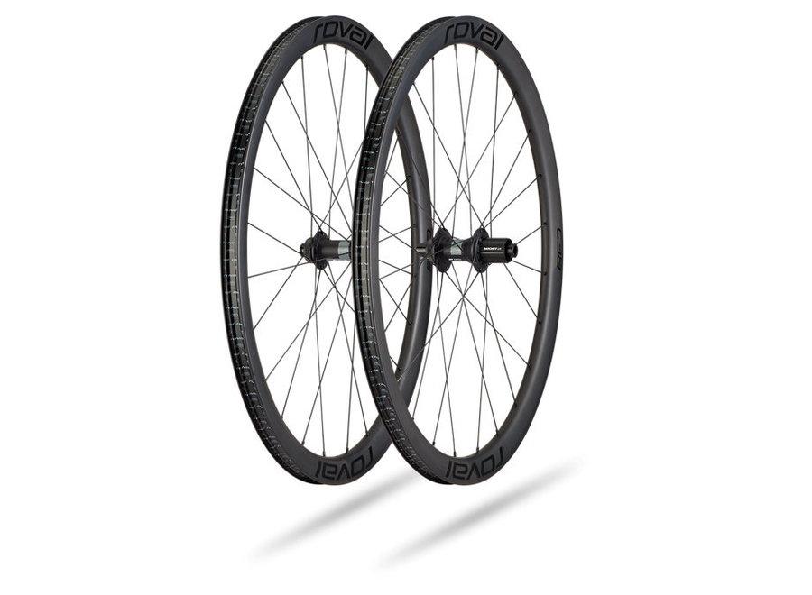 Rapide C 38 Disc Wheelset Satin Carbon/Black