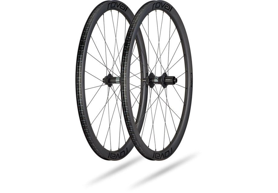 Roval Rapide C 38 Disc Wheelset Satin Carbon/Black