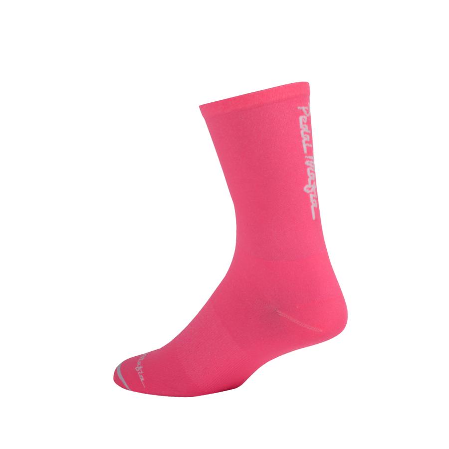 Pedal Mafia Sock Flamingo Pink