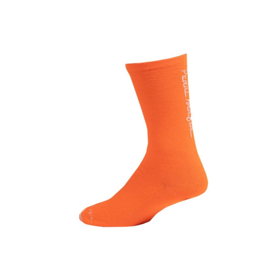 Pedal Mafia Sock - HV Orange