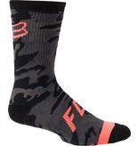 Fox Racing Defend Sock Black Camo 2021