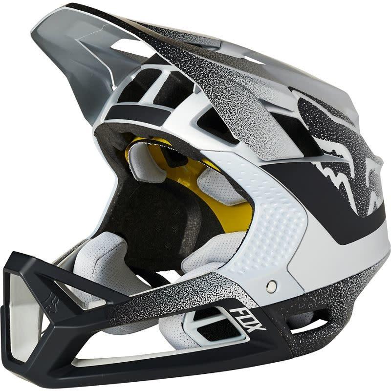 Fox Racing Proframe Vapor Helmet Silver/Black