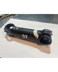 """3T Arx II Pro Stem: 31.8mm Clamp, 1-1/8"""" Steerer, 130mm Length, +/- 6 Degree, Black"""