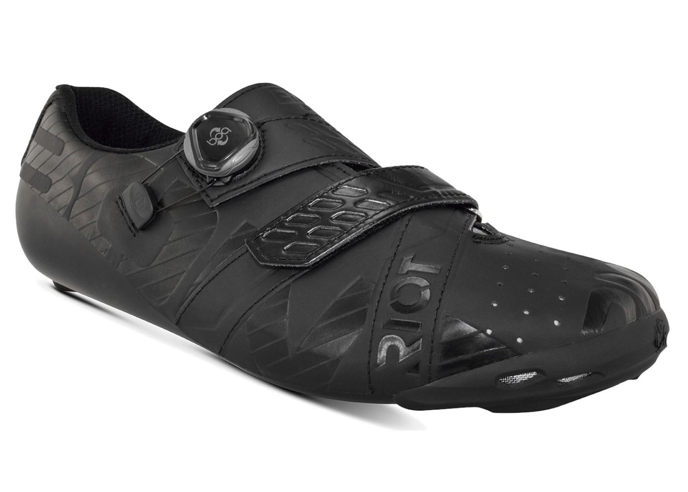 Bont BONT Riot Road+ Cycling Shoe 44 Black (no box)