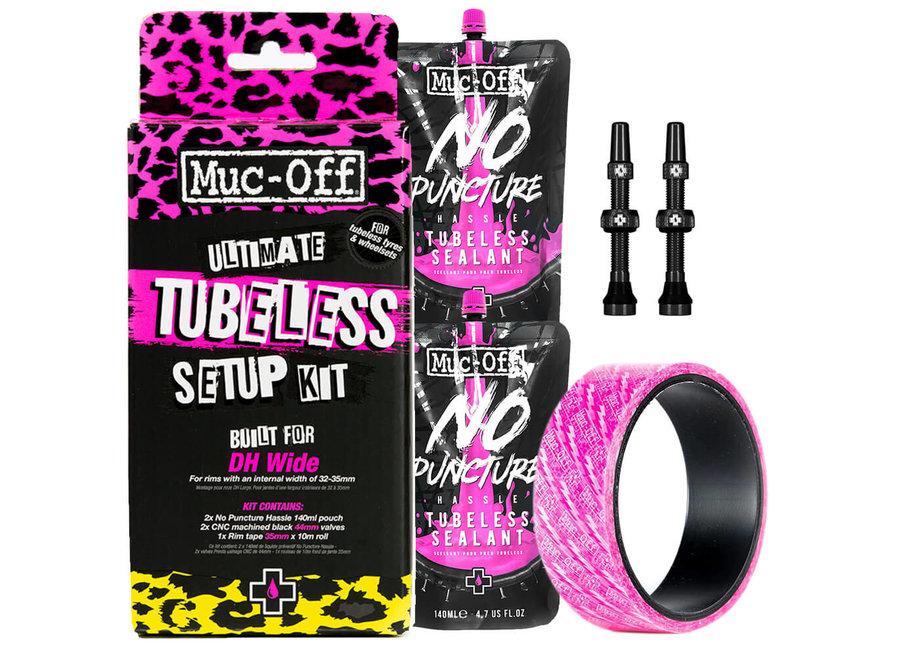 Tubeless Kit for 19-23mm rims