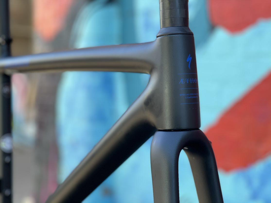 Specialized 2021 Aethos Pro 10r Frameset Satin Blue Murano/Carbon/Cobalt 49