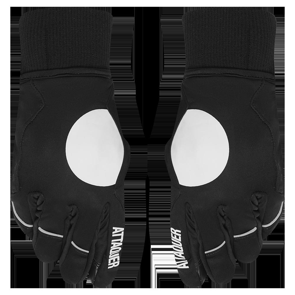 Attaquer Gloves Deep Winter Black
