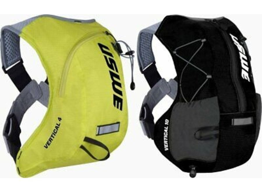 USWE Vertical 10 Hydration Compatible Backpack Black