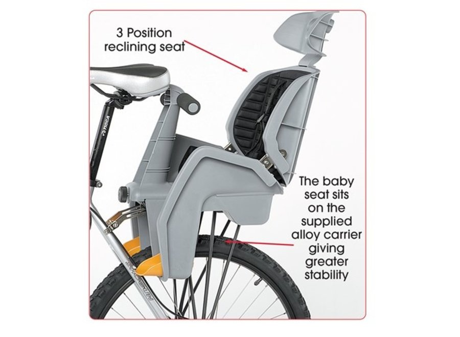 Beto Baby Baby Seat Delux 700c with Disc Compatible Rack