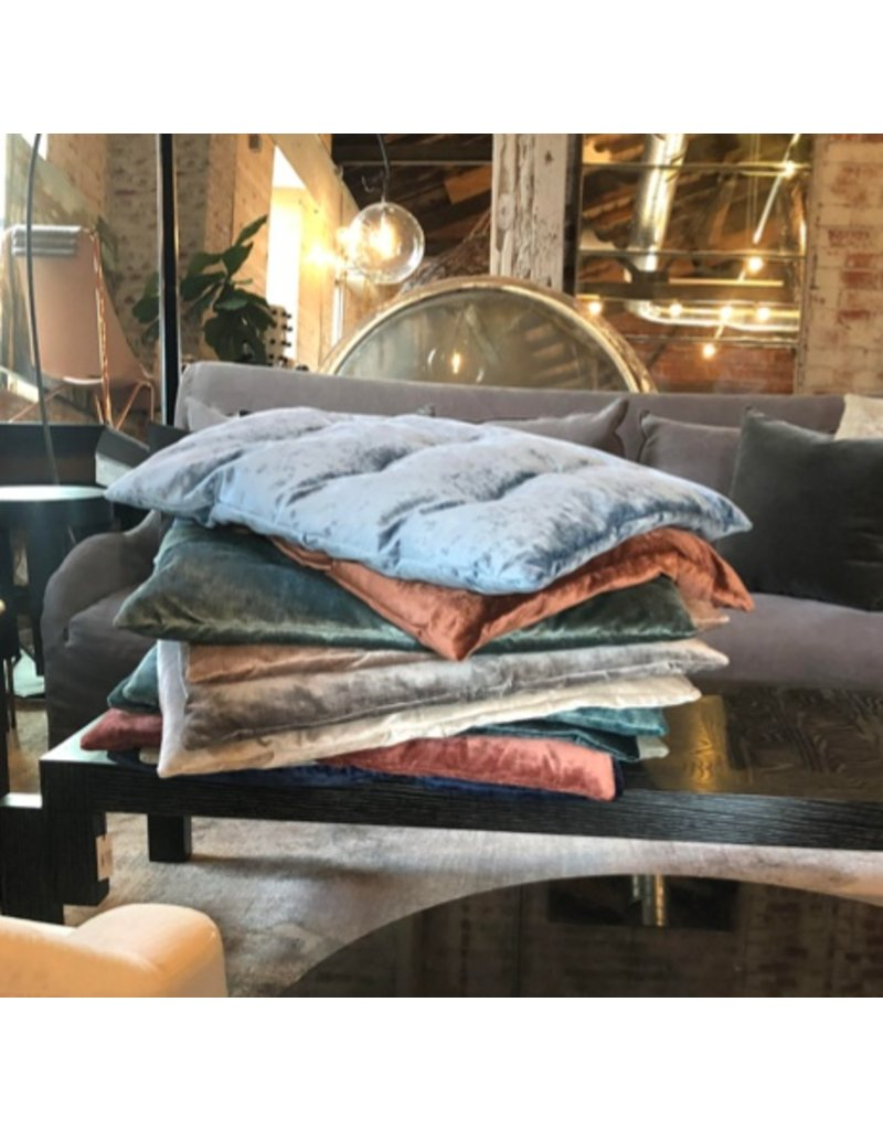 Saba|Vegas Velvet Pillow 44  Grey