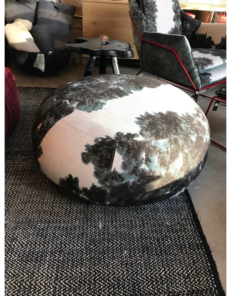 Saba | Big Pouf Geo | Red