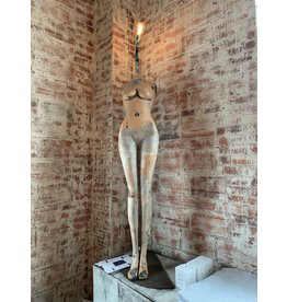 Female Mannequin Lamp  Not For Sale