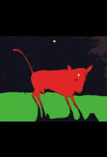 Bull - 5' x 7' - wool and silk