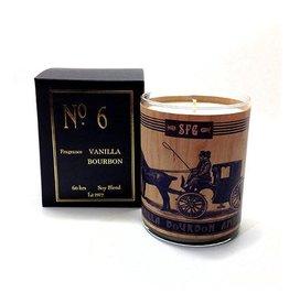 Vanilla Bourbon Amber Candle