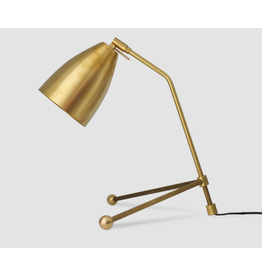 Brass TRex Table Lamp