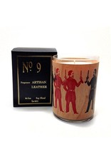 Artisan Leather Candle