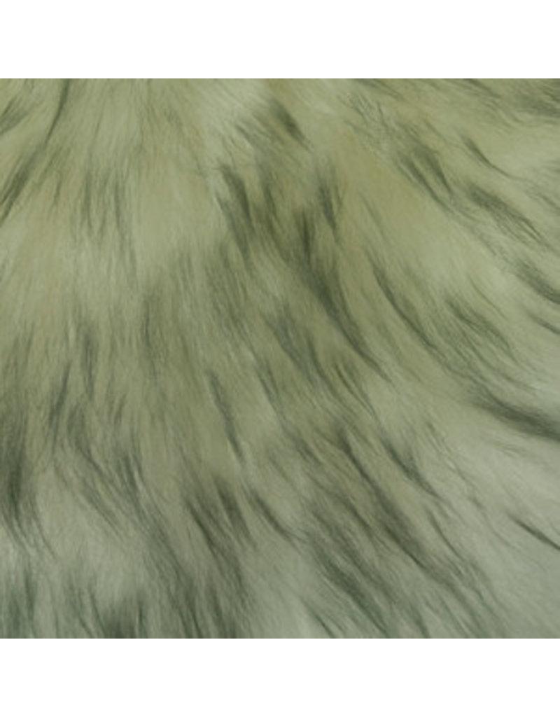Auskin Pelt- Grey Mist 2'X3'