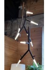 New Growth Pendant - LED 3 - Blackened