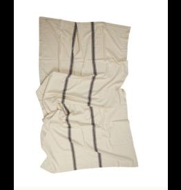 Admiral Table Cloth - Nat/Black