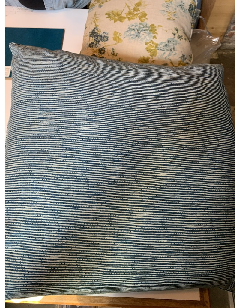 Blue Stripped Pillow - Cisco