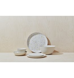 Spotted Serving Platter - Citron