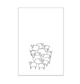 Sheep Herd Tea Towel