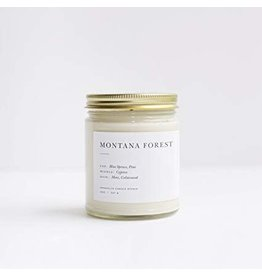 Brooklyn Candle Montana Forest Minimalist  Candle Collection