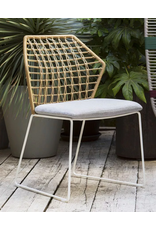 Saba NY Soleil Chair - Outdoor - Black/Canapa Rope Extra Bandoleto 28
