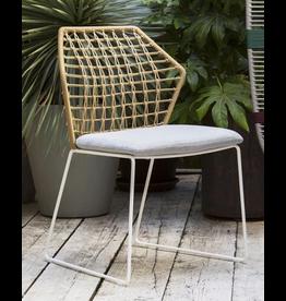 Saba|  NY Soleil Chair - Outdoor - Black/Canapa Rope Extra Bandoleto 28
