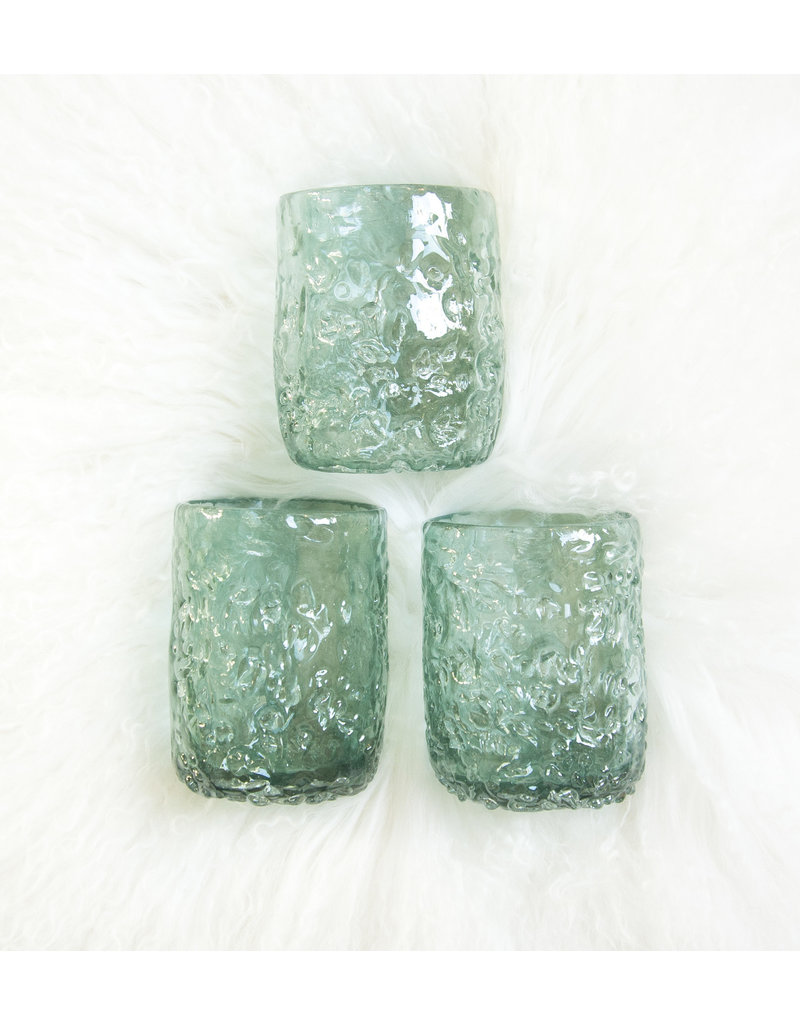 Blue Textured Glasses s/o4