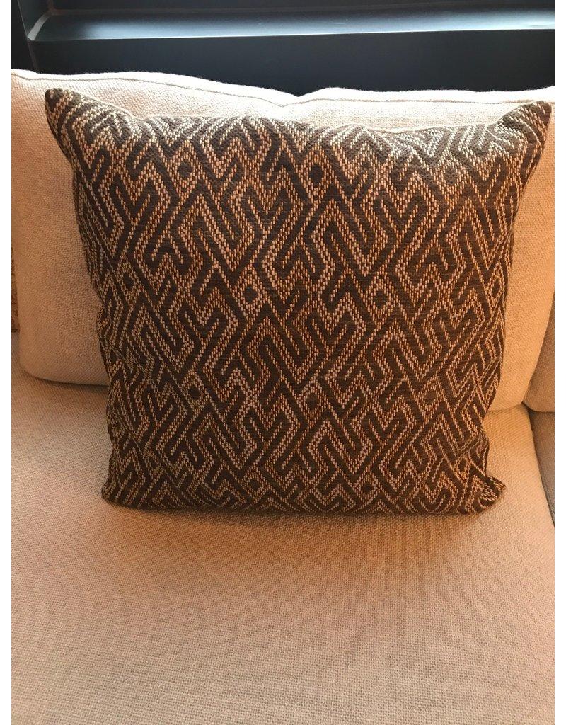 Boulder Pillow - beige/brown