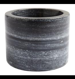 """Marble Athena Bowl, Black 8"""""""