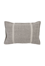 Lil Sergeant Cushion - Grey/Nat 35 x 55 with insert