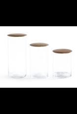 Simple Storage Containers - medium - oak