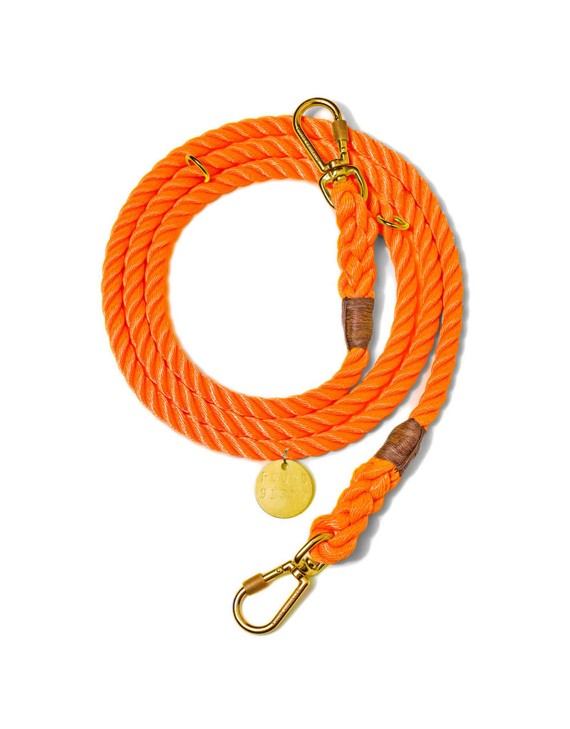 Adjustable Leash - Orange MED