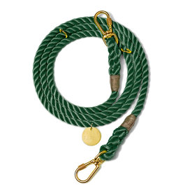 Adjustable Leash - Hunter Green MED