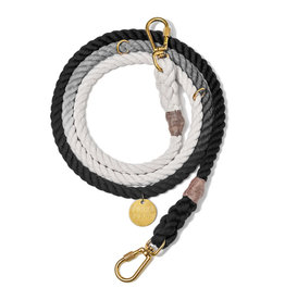 Adjustable Leash - Black Ombre MED