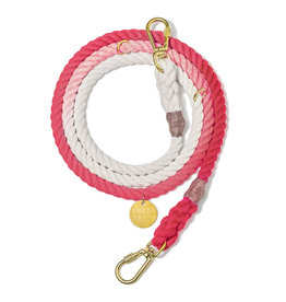 Adjustable Leash - Coral Ombre MED