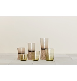 Chroma - glass small - olive