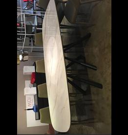 Midj Forest Table 98x39 Calacatta Ceramic