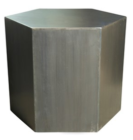 Metal Side Table 20""