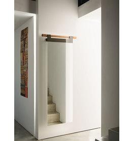 "Hook Wall Mirror - BLK 87"" x 24"""